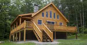 Just $35,400 For The DIYu0027er Or $68,900 Complete Log Home Log Cabin With Log  Floor Plans To Check Out